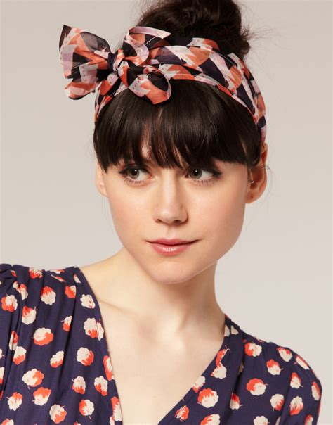 head scarves with bangs lifestyle geek style obsession head scarves