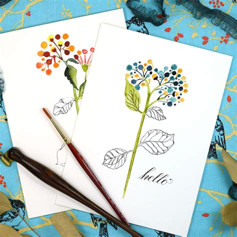carding tutorial reddit floral sketch quot just because quot card tutorial the postman s