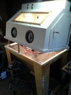 How To Make A Blast Cabinet by 17 Best Images About Diy Sandblasting Cabinet On