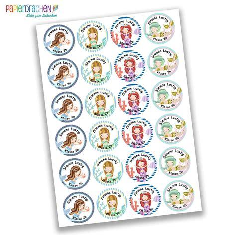 Sticker Schule Namensetiketten by 24 Personalisierte Namensaufkleber Schule Mit