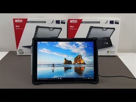 Surface Pro 4 Giveaway - stm dux cover review for surface pro 3 funnycat tv
