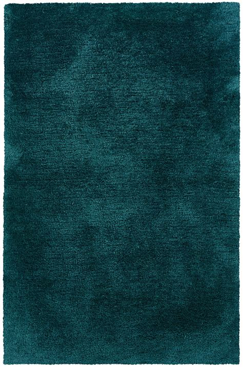 Tozai Home Decor by Sphinx C81104 Cosmo Teal Transitional Shag Rug Spx 81104