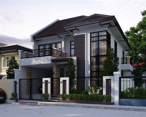 2 stories house two storey house home design house