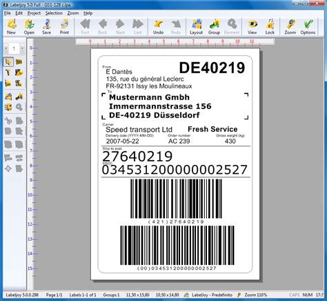 come generare barcode gs1 128