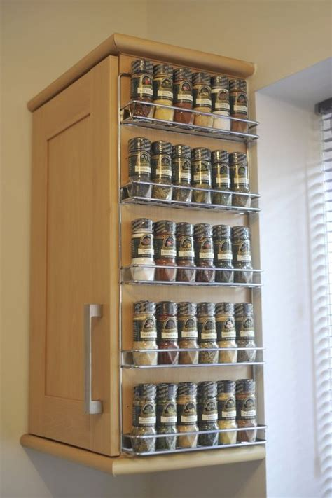 wall mounted spice rack cabinet beside the cabinet wall mounted spice rack with wire