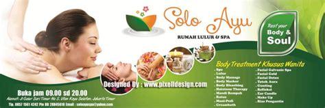 Poster Untuk Tempat Usaha Spa Pijat Dan Refleksi 54 90x135cm gambar contoh iklan spa klinik kecantikan salon gambar