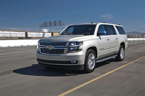 first chevy suburban first test 2015 chevrolet suburban gmc yukon denali xl