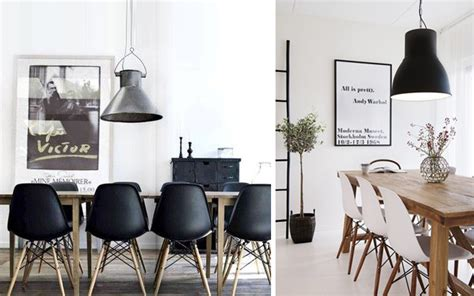 Houzz Dining Room Chairs Decoraci 243 N De Comedores Con Sillas Eames