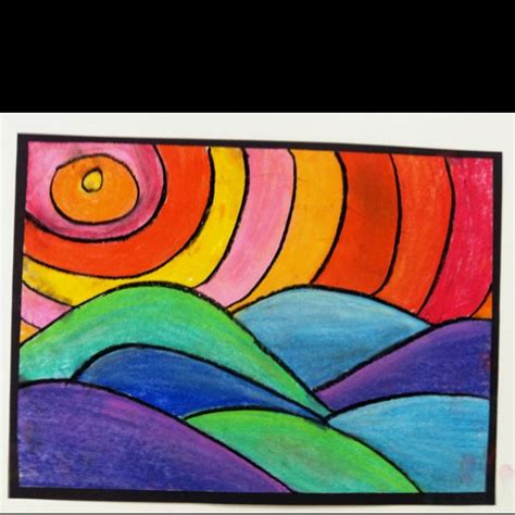 und colors warm and cool color project with value colors and