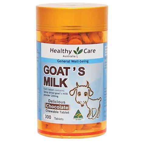 healthy care goat milk chocolate 300 tablets epharmacy