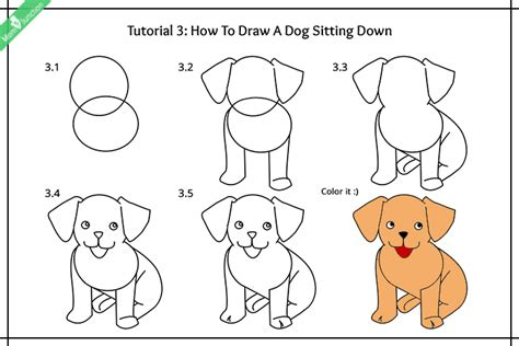 how to draw dogs step by step guide on how to draw a for