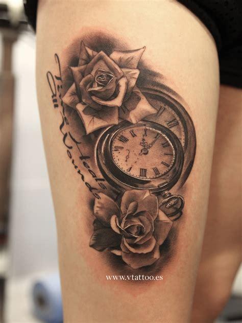 imagenes tatuajes reloj tatuaje steunk rosas reloj b 250 squeda de google