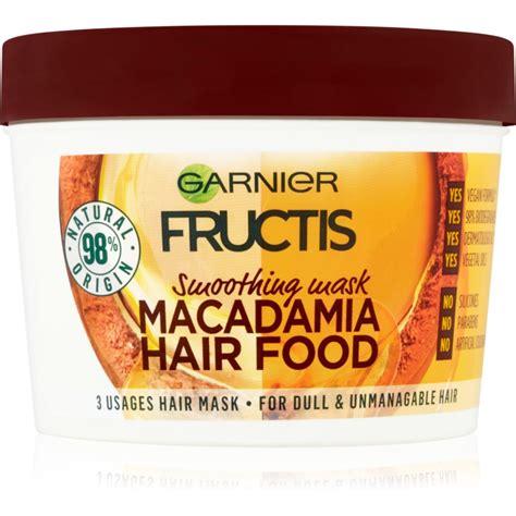Garnier Masker garnier fructis macadamia hair food gladmakende masker