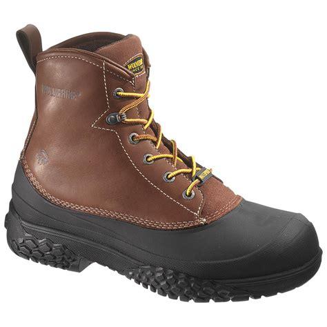 mens waterproof boots s wolverine 174 6 quot rival swmonster waterproof boots