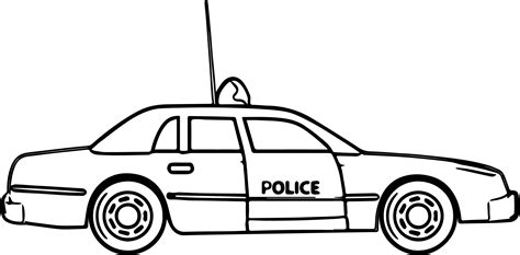 new car coloring page new police car coloring pages wecoloringpage
