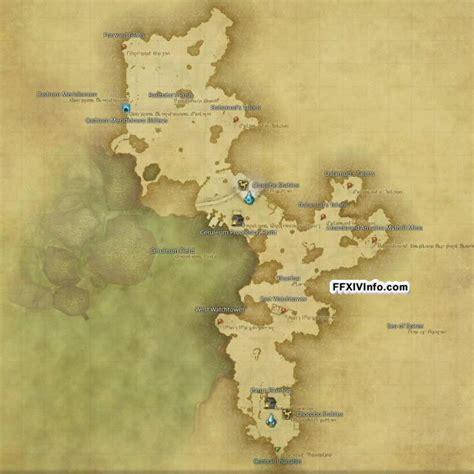 northern thanalan maps ffxiv  realm reborn info ff