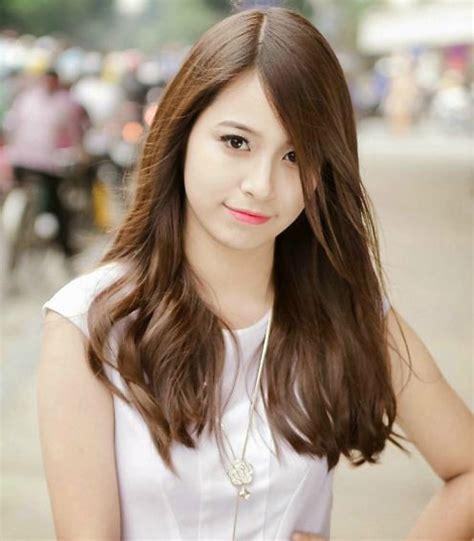 korean hairstyle for round face 2016 hairstyles beautiful korean bangs for girls