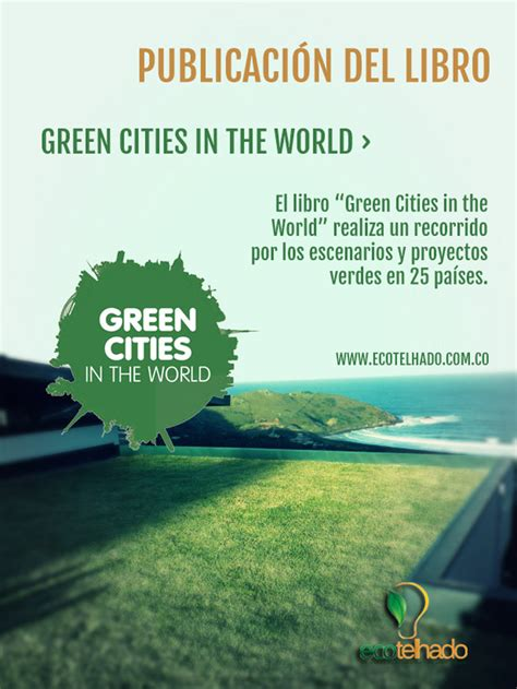 libro when the world is presentaci 243 n del libro green cities in the world