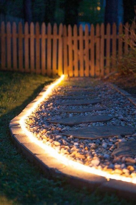 beleuchtung gartenweg die 25 besten ideen zu beleuchtung garten auf