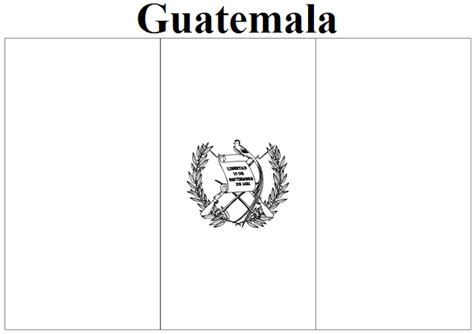 guatemala map coloring page geography blog guatemala flag coloring page