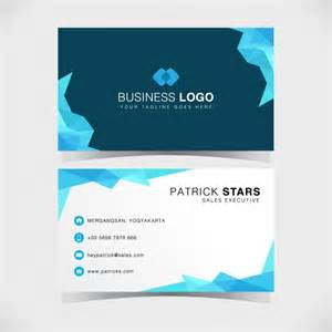 business card design vector free