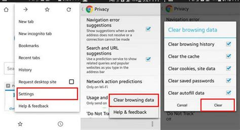 android how to clear cache clear cache android how to clear cache on android