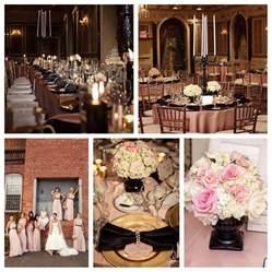 blush pink and black wedding blush and pink wedding