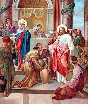 Bible Wedding At Canaan by Catholic Teaching The Wedding At Cana Is Jesus