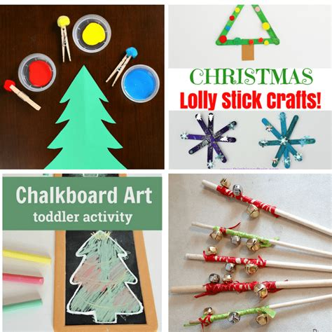 two year olds christmas crafts 30 activities for 1 and 2 year olds views from a step stool