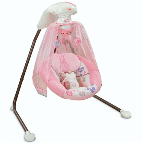 fisher price swing pink fisher price tree party cradle n swing trees fisher