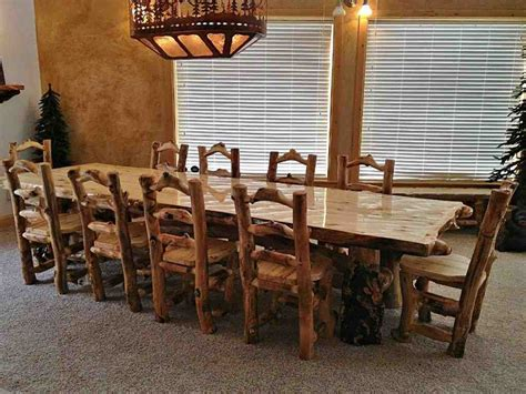 log dining room table log dining room table rustic log dining room furniture