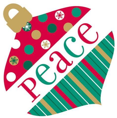 Purple And Teal Christmas Decorations by Partystore Com Christmas Colorful Holiday Peace Ornament