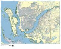 cape coral digital vector maps editable