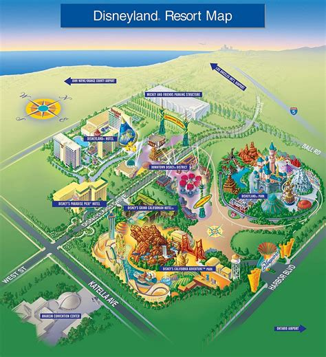 disney resort map which disneyland resort hotel is right for you