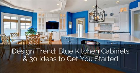 Design Trend Blue Kitchen Cabinets 30 Ideas To Get You | design trend blue kitchen cabinets 30 ideas to get you