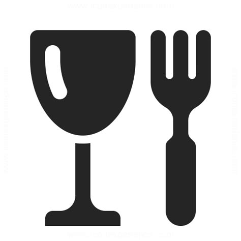 Green Kitchen Glass Fork Icon Amp Iconexperience Professional Icons 187 O