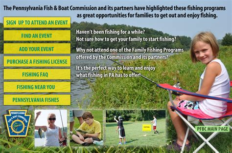 pa fish and boat commission directory warren county s community website category fishing