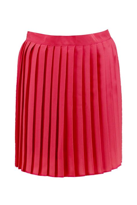 Pleated Chiffon Mini Skirt boohoo womens cate chiffon pleated mini skirt ebay
