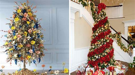 193 rboles de navidad decorados con flores