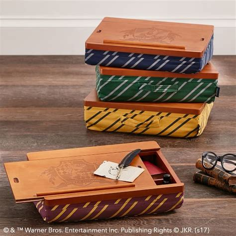 harry potter desk decor harry potter superstorage lapdesk hufflepuff pbteen