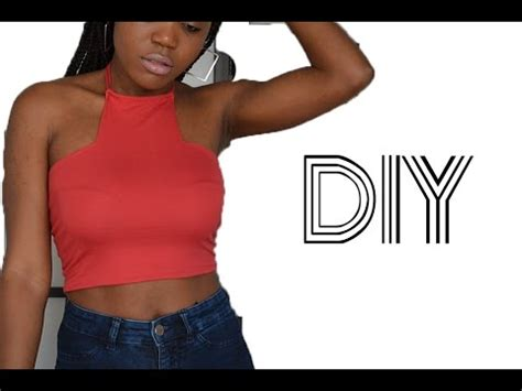 Hq 15666 Halter Ring Top 1 diy how to make a v bustier inspired