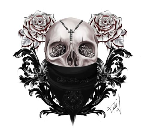 blood rose tattoo skull with blood roses tattoos