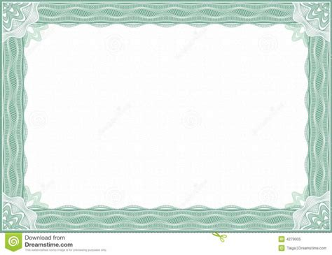 design certificate border home design certificate border royalty free stock image