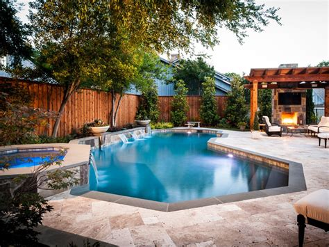 Pool Backyard Ideas With Above Ground Pools Fence Outdoor Garden Pool Designs Ideas