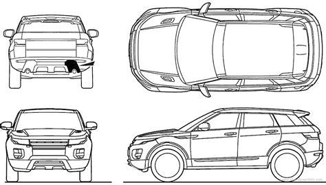 range rover evoque drawing the blueprints com blueprints gt cars gt land rover gt land