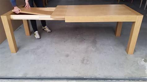 come fare un tavolo allungabile tavolo allungabile moderno in legno di rovere
