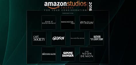 amazon studios amazon studios lands first fyc page of the season
