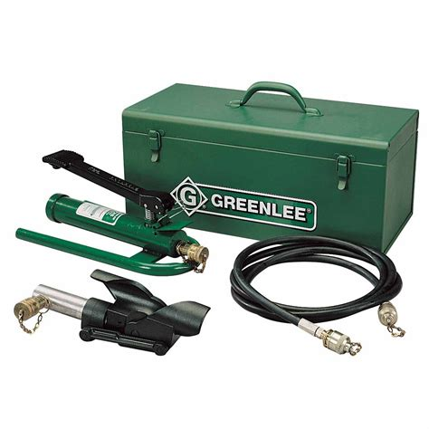 greenlee wire greenlee 800f1725 hydraulic cable bender with foot