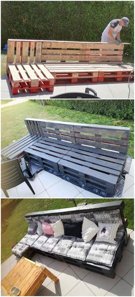 pallet couch outdoor awesome diy ideas for wood pallets repurposing pallet