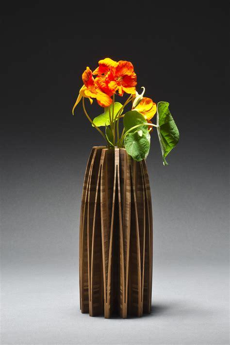 Cut Flower Preservation For Extended Vase by Orchid Vase By Seth Rolland Wood Vase Artful Home
